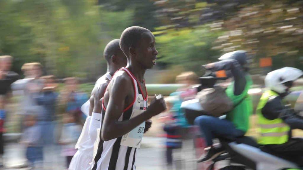 Marathonlauf in Berlin