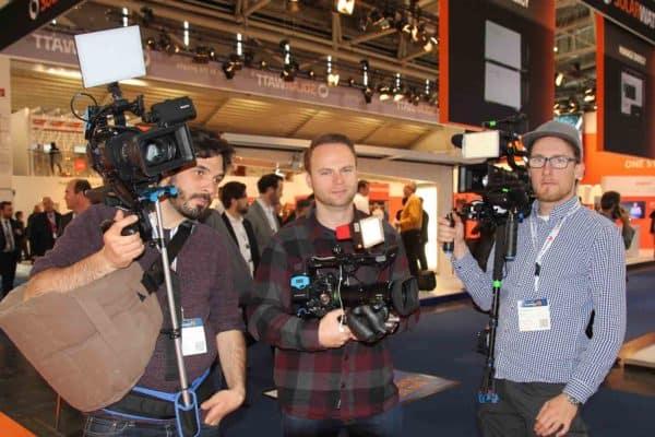 Das Kamerateam von VORSATZ.MEDIA in München.